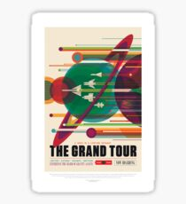 NASA JPL Space Tourism: The Grand Tour Sticker
