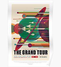 NASA JPL Space Tourism: The Grand Tour Poster