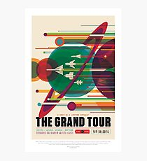 NASA JPL Space Tourism: The Grand Tour Photographic Print