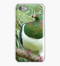 Did You Knock On My Wood? - Wood Pigeon - NZ iPhone Case/Skin
