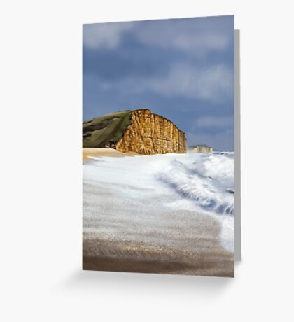 West Bay, Dorset (Broadchurch) Greeting Card
