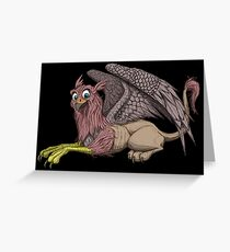 Griffon Greeting Card