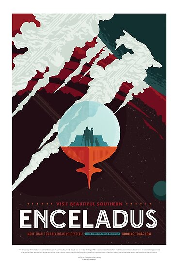 NASA JPL Space Tourism: Enceladus by bobbooo