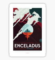 NASA JPL Space Tourism: Enceladus Sticker