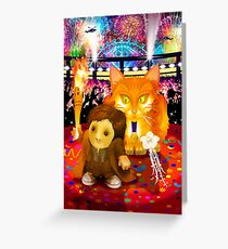 The Cospose - Ginger Olympiad Greeting Card