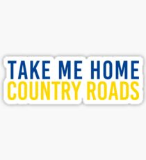Take Me Home, Country Roads Sticker