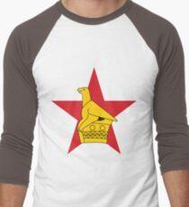 Zimbabwe Baseballshirt für Männer
