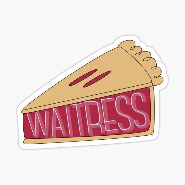 Waitress Pie Sticker