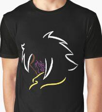 Miki Itakashi - Silhouette Graphic T-Shirt