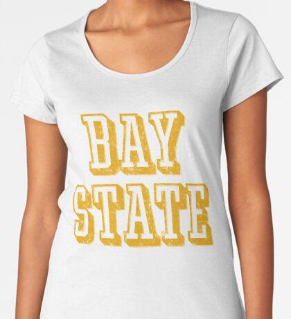 The Bay State - Vintage & Retro Premium Scoop T-Shirt
