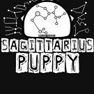Sagittarius Zodiac Pup by NerdyDoggo