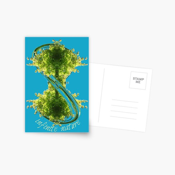 infinite nature is now Postcard