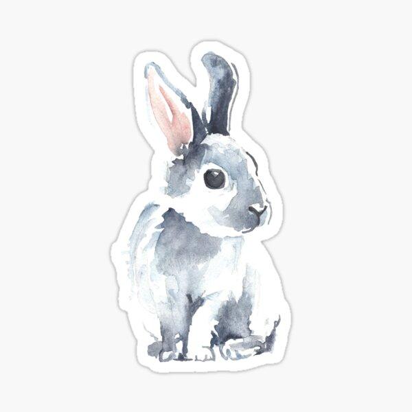 Moon Rabbit II Sticker