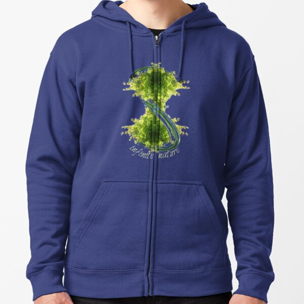 infinite nature is now Zipped Hoodie