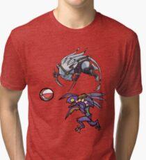 Khazix and Rengar Playtime Tri-blend T-Shirt