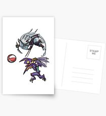 Khazix and Rengar Playtime Postcards