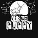Virgo Zodiac Pup by NerdyDoggo