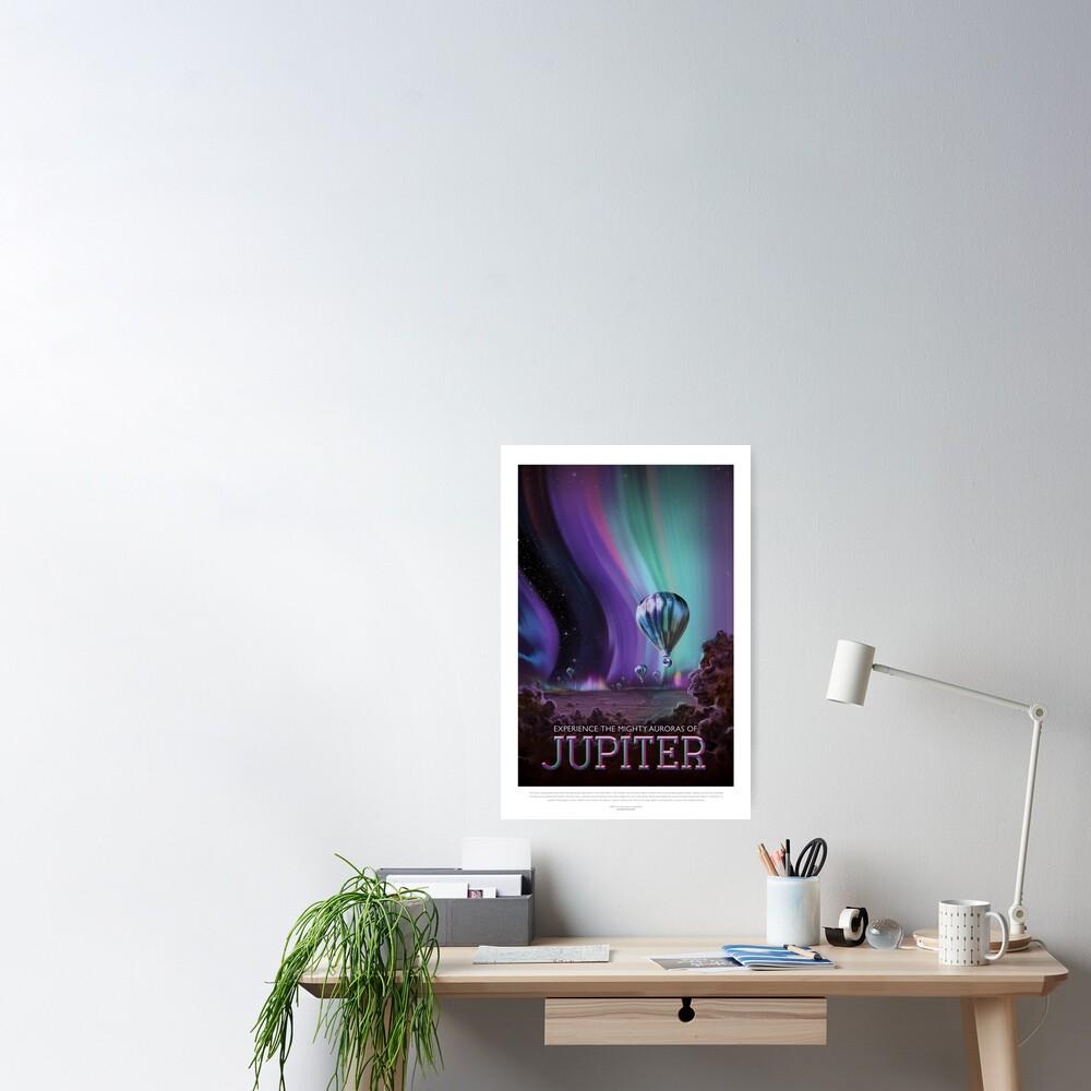 Poster «NASA JPL Space Tourism: Jupiter (résolution 8K)»