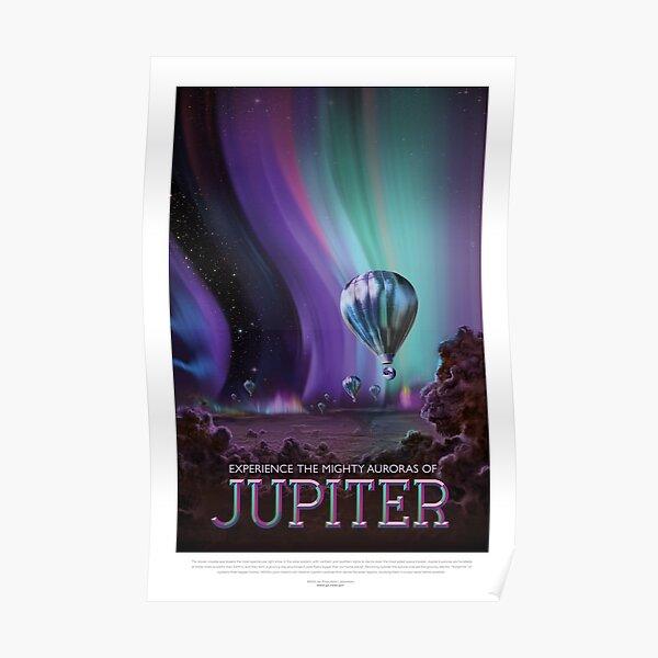 NASA JPL Space Tourism: Jupiter (résolution 8K) Poster