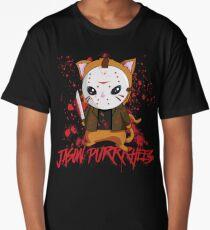 Jason Purrrhees Long T-Shirt