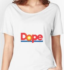 DOPE STICKER Women's Relaxed Fit T-Shirt