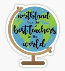 northland teachers Sticker
