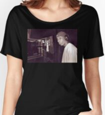 BIG L IN THE STUDIO Women's Relaxed Fit T-Shirt