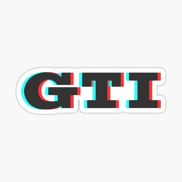 3D GTI Sticker