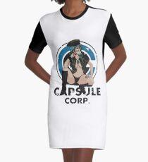 Bulma Capsule Graphic T-Shirt Dress