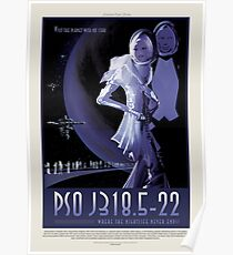 NASA JPL Exoplanet Reisebüro: PSO J318.5-22 Poster