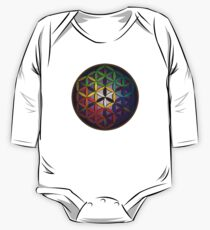 flower of life (spectral) One Piece - Long Sleeve