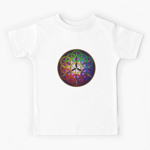 flower of life (spectral) Kids T-Shirt