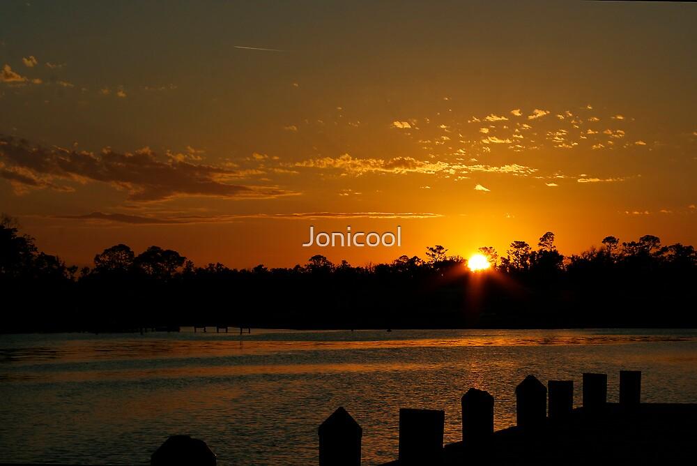 January Sunset by Jonicool