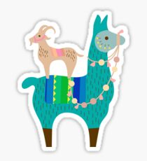 Llama Fun  Sticker