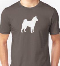 Shiba Inu Silhouette (n) Slim Fit T-Shirt