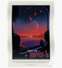 NASA JPL Exoplanet Travel Bureau: TRAPPIST-1e Poster