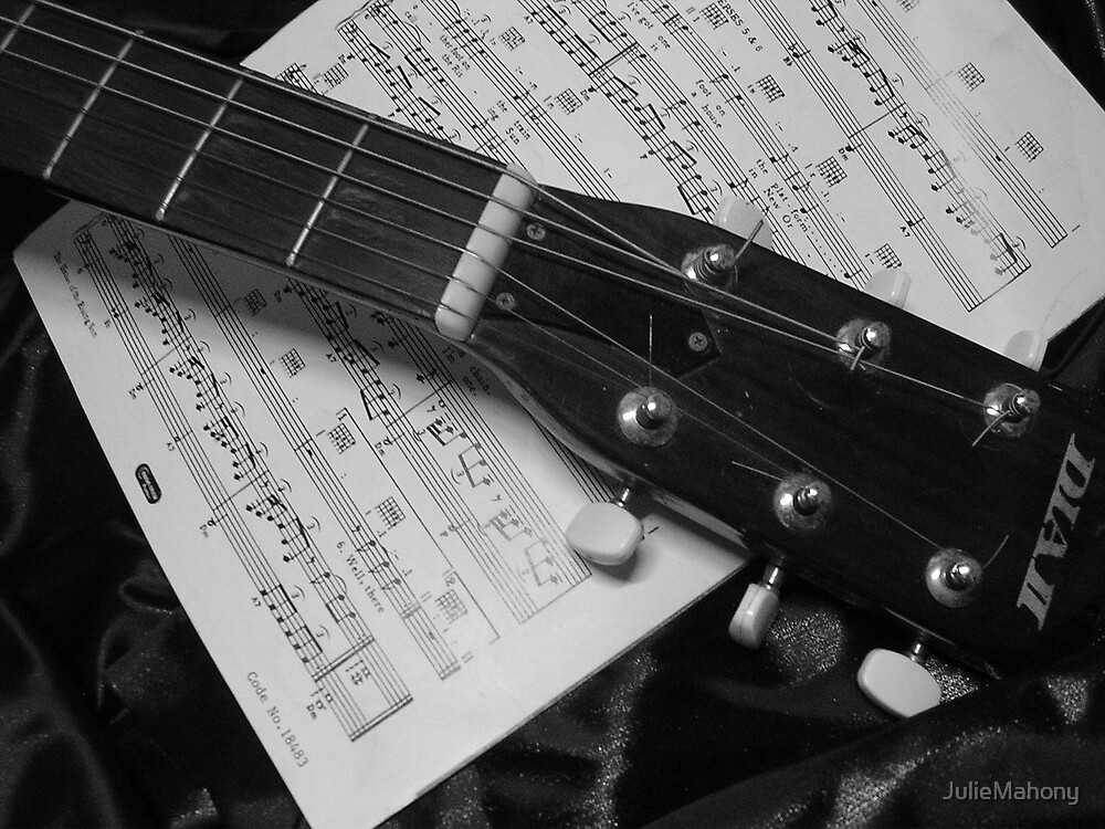 My Brothers Guitar by JulieMahony