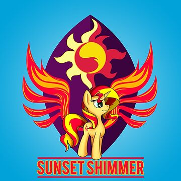 Flamevulture Premade Design - Sunset Shimmer by broniesunite