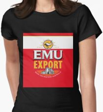 Emu Export Womens Fitted T-Shirt