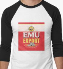 Emu Export - Bush Chook Men's Baseball ¾ T-Shirt