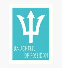 Daughter of Poseidon• Percy Jackson Art Print