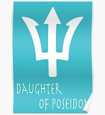 Daughter of Poseidon• Percy Jackson Poster