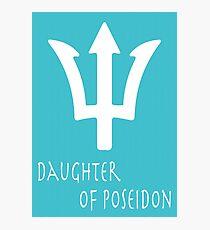 Daughter of Poseidon• Percy Jackson Photographic Print
