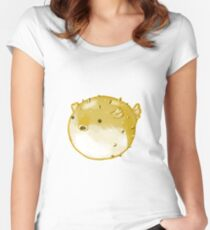 Pufferfish Women's Fitted Scoop T-Shirt