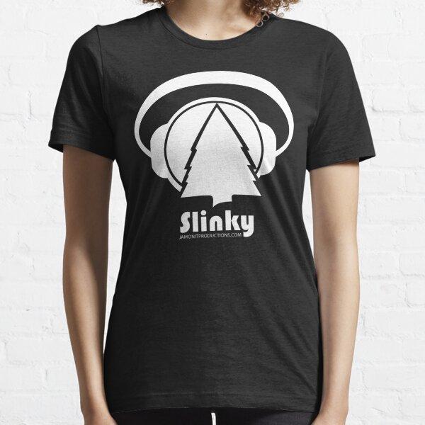 Slinky Logo Font Centered  Essential T-Shirt