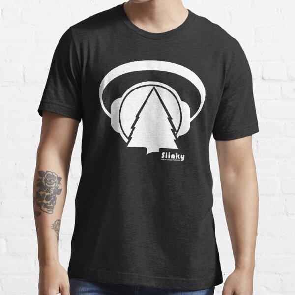 Slinky Logo Small Font Side Essential T-Shirt