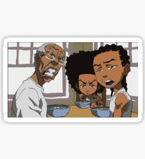 Boondocks Sticker