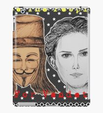 (V For Vendetta - We The People) - yks by ofs珊 iPad Case/Skin