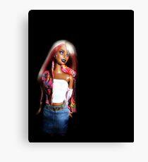 My Plastic Diva Canvas Print