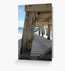 Normanville Jetty, SA Greeting Card